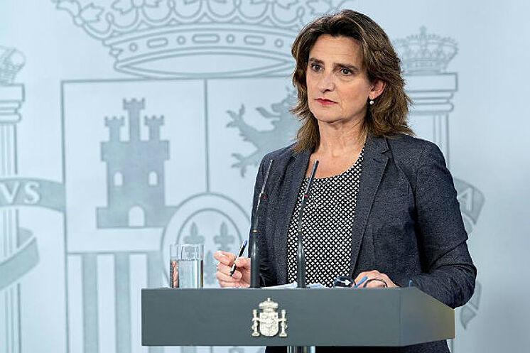 Teresa Ribera, vicepresidenta cuarta y ministra de Transición Ecológica y Reto Demográfico.