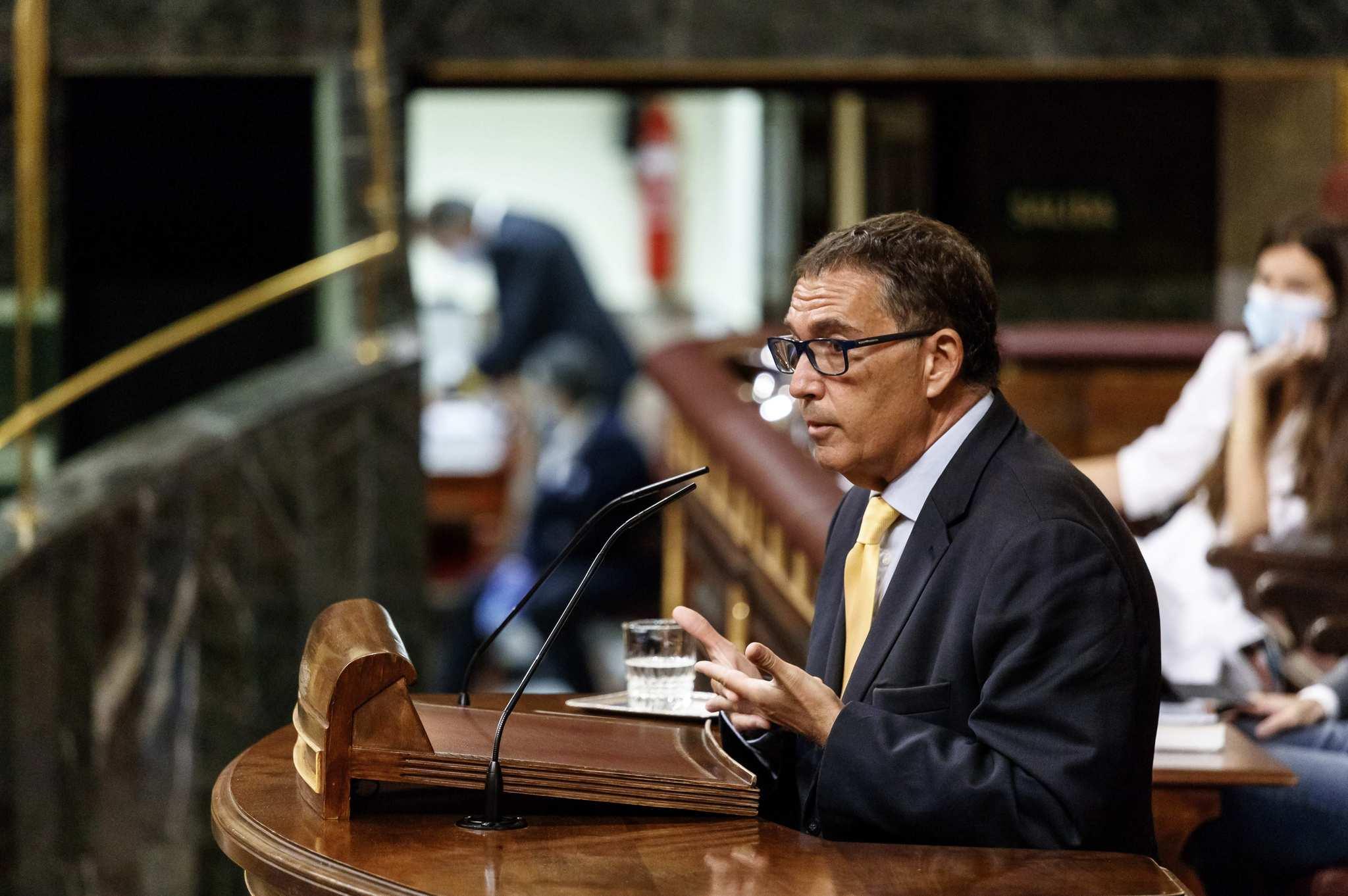 Jaume Alonso-Cuevillas, en el pleno en el congreso de los diputados.