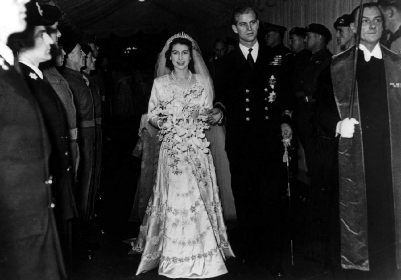 La boda de la reina, en noviembre de 1947