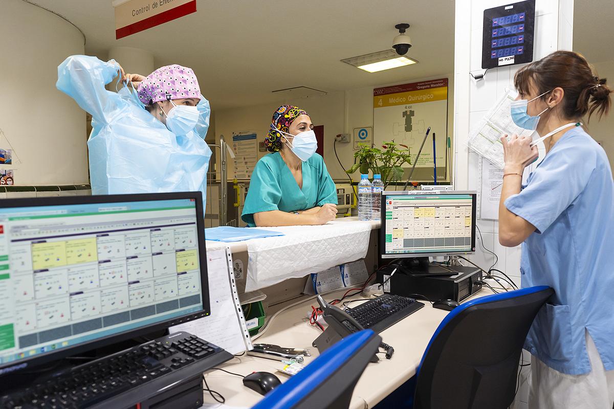 Enfermedades infecciosas del Gregorio Marañón, la unidad por excelencia que ha probado más de una decena de fármacos anticovid