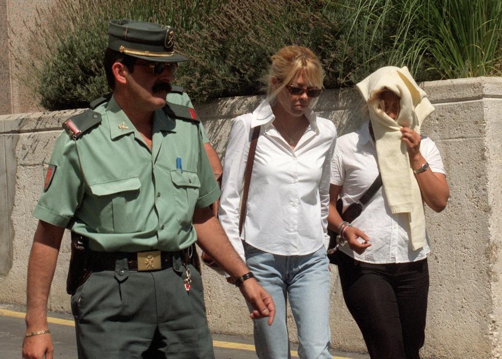 Laura Fernández a su llegada al juicio por el intento de asesinato de su marido.