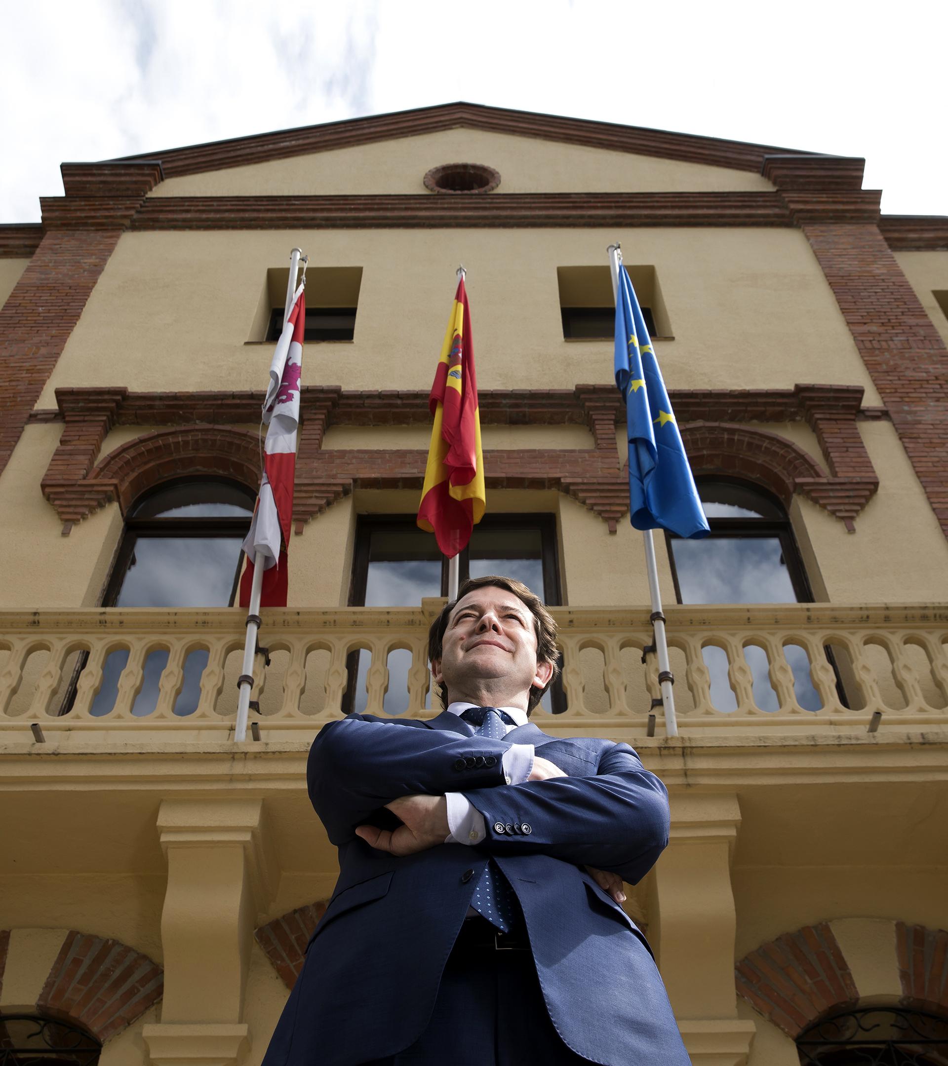 """Alfonso F. Mañueco: """"Convertir las elecciones de Madrid en unas generales es un error"""""""