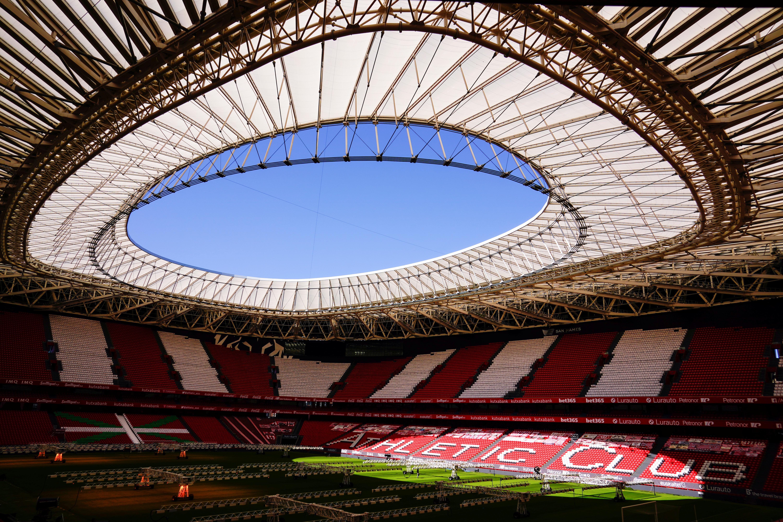 El estadio de San Mamés.