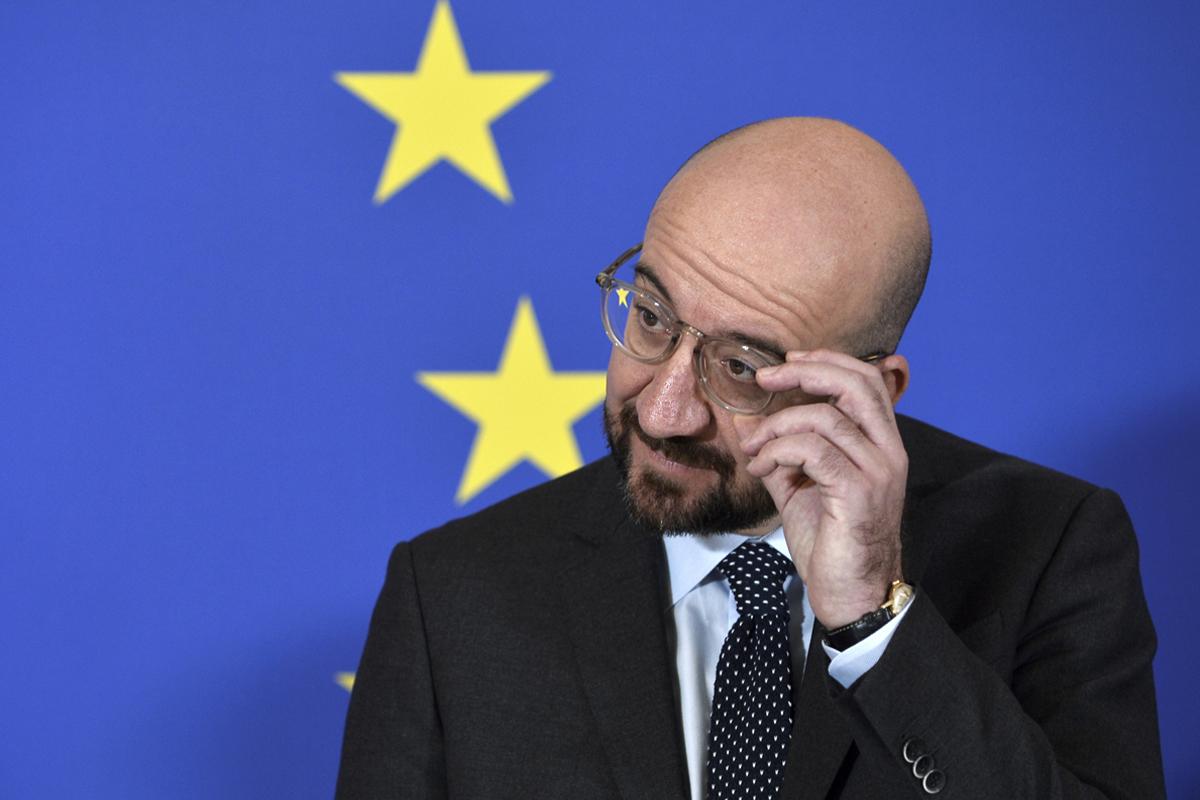 El presidente del Consejo Europeo, Carles Michel.