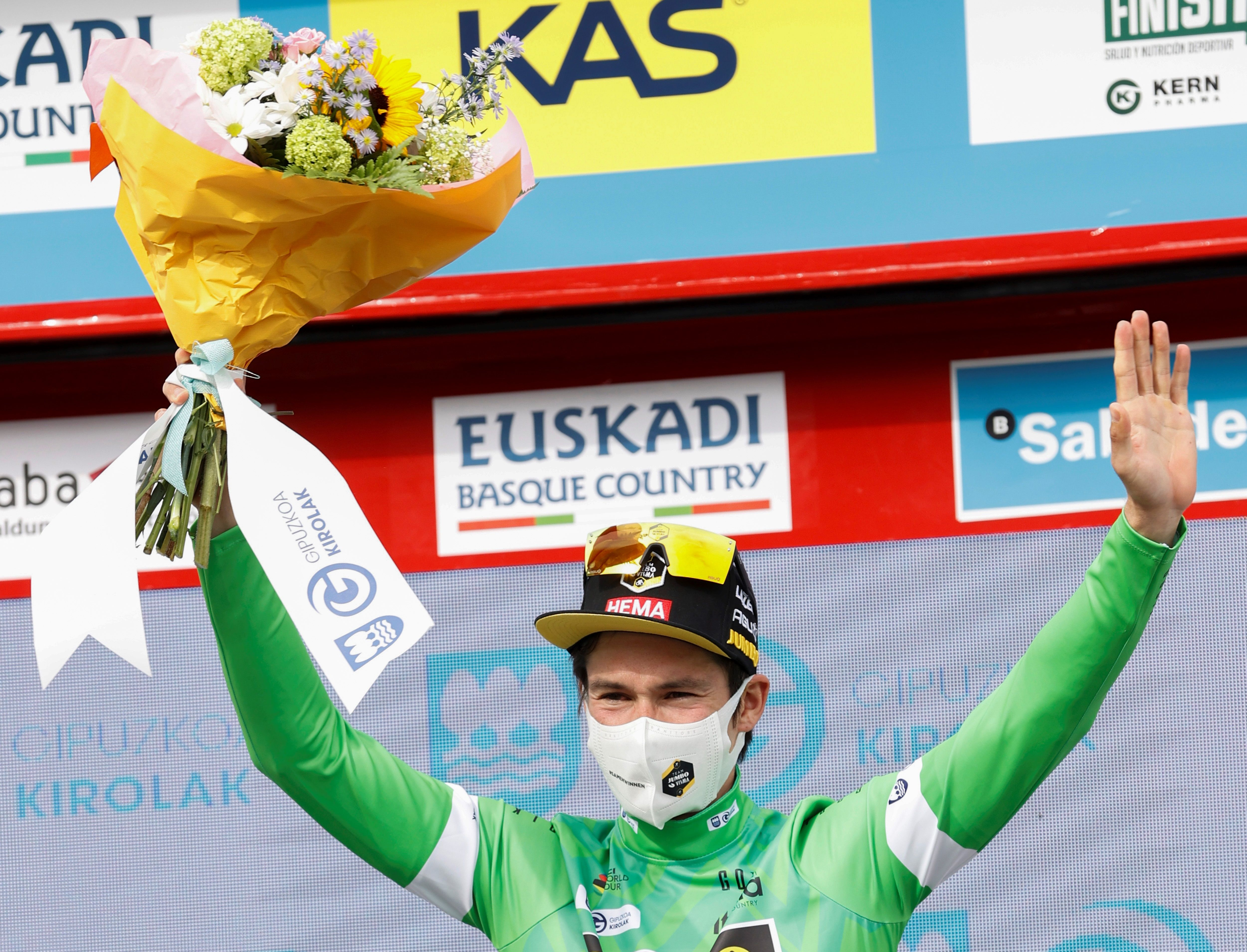 Roglic, winner of the Tour of the Pa