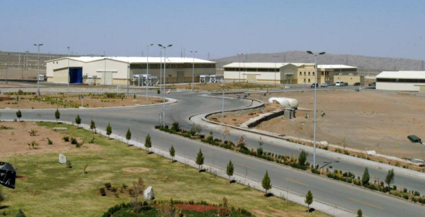 Vista aérea de la planta iraní de enriquecimiento de uranio en Natanz.