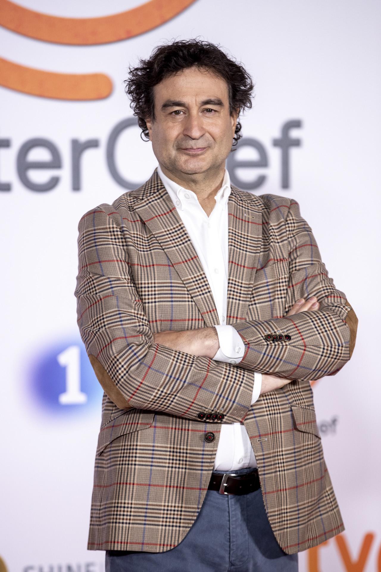 Pepe Rodríguez, en la reciente presentación de la novena edición de MasterChef.