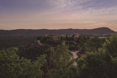 Montclar (Barcelona), otro de los protagonistas.
