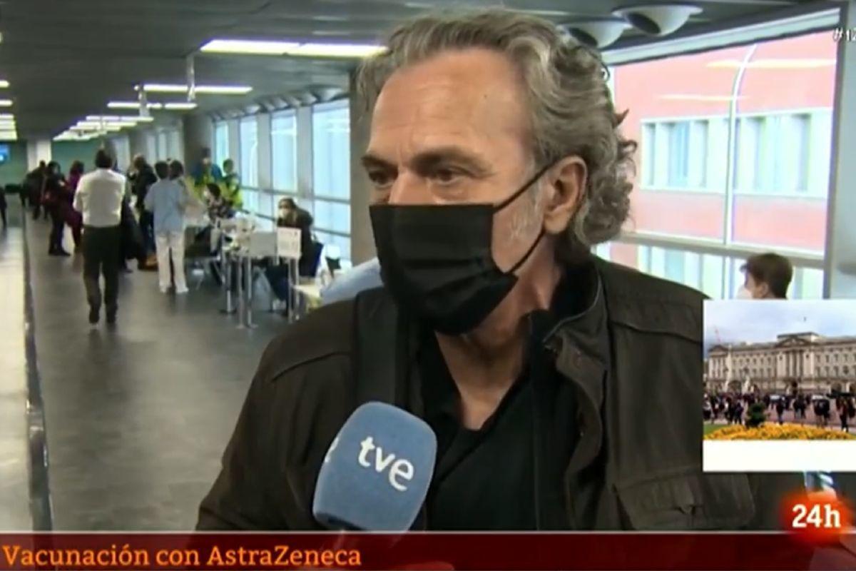 El dardo envenenado de José Coronado a los medios tras ponerse la vacuna deAstraZeneca