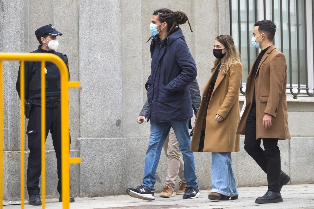Alberto Rodríguez, diputado de Unidas Podemos, a su llegada al Supremo el pasado marzo.