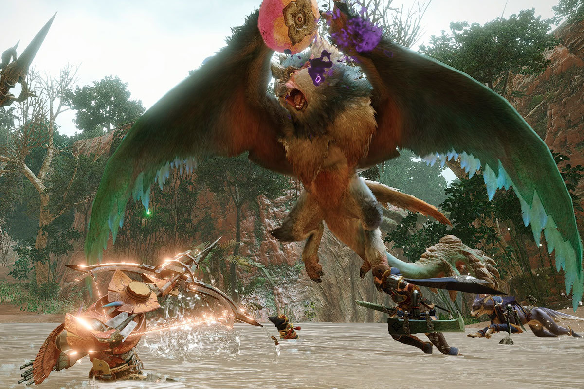 Monster Hunter Rise: un juego fundamental para Switch