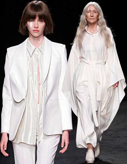 Dos looks blancos de la nueva colección de Otrura