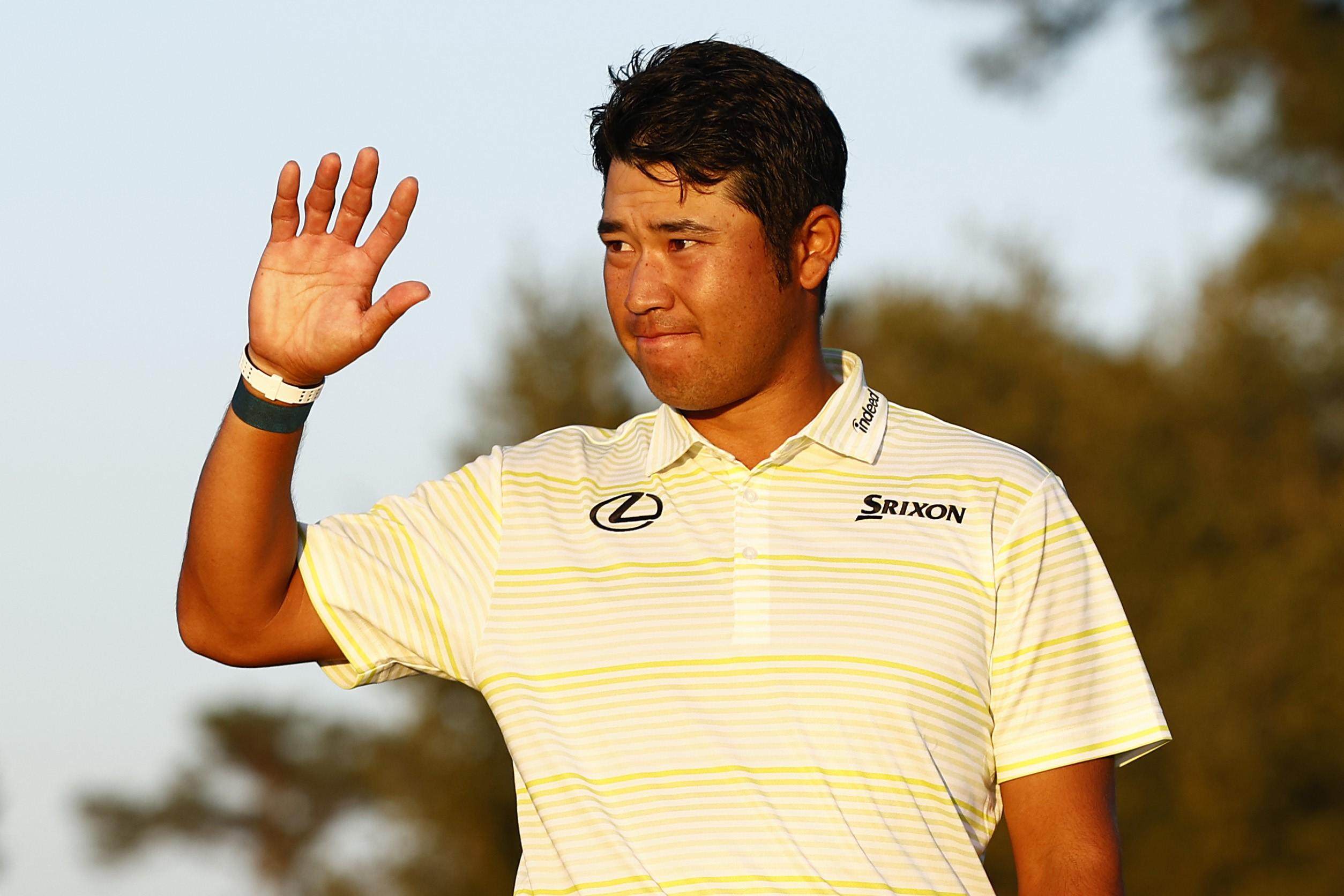 Hideki Matsuyama durante el Masters de Augusta