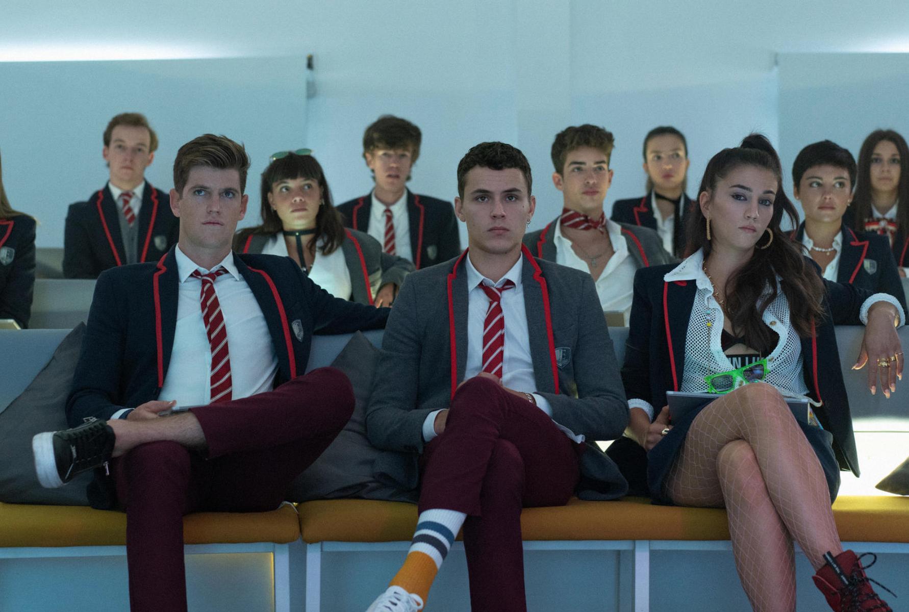 El elenco de Élitem que estrena cuarta temporada