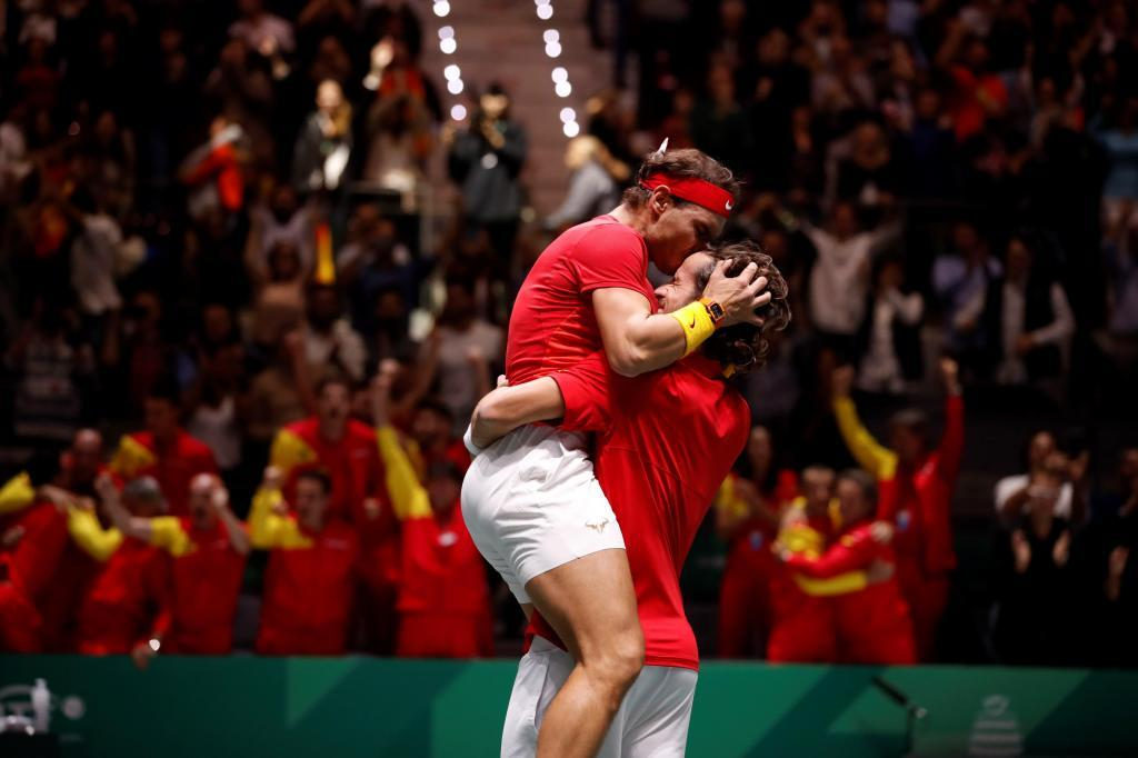 Nadal y Feliciano en la Copa Davis 2019