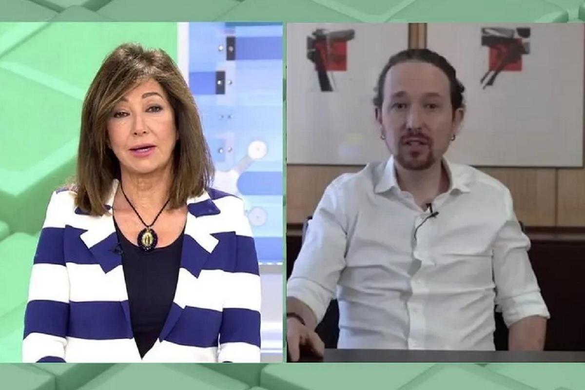 Ana Rosa Quintana responde al vídeo de Unidas Podemos.