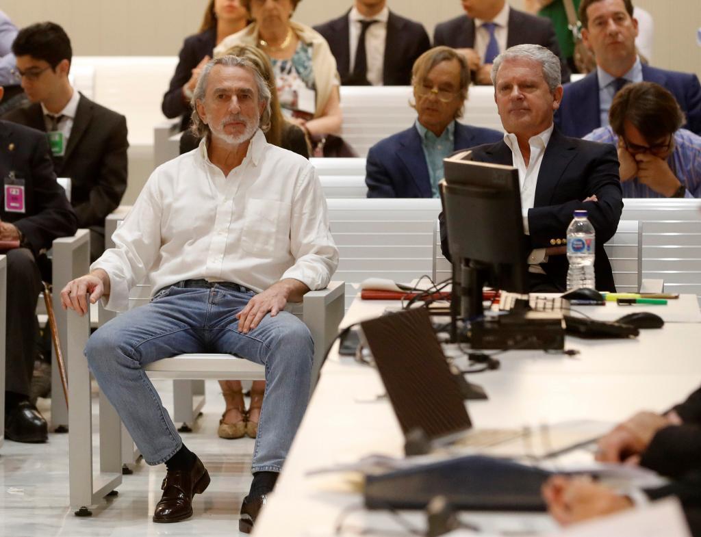 Francisco Correa, en uno de los juicios en su contra celebrados en la Audiencia Nacional.