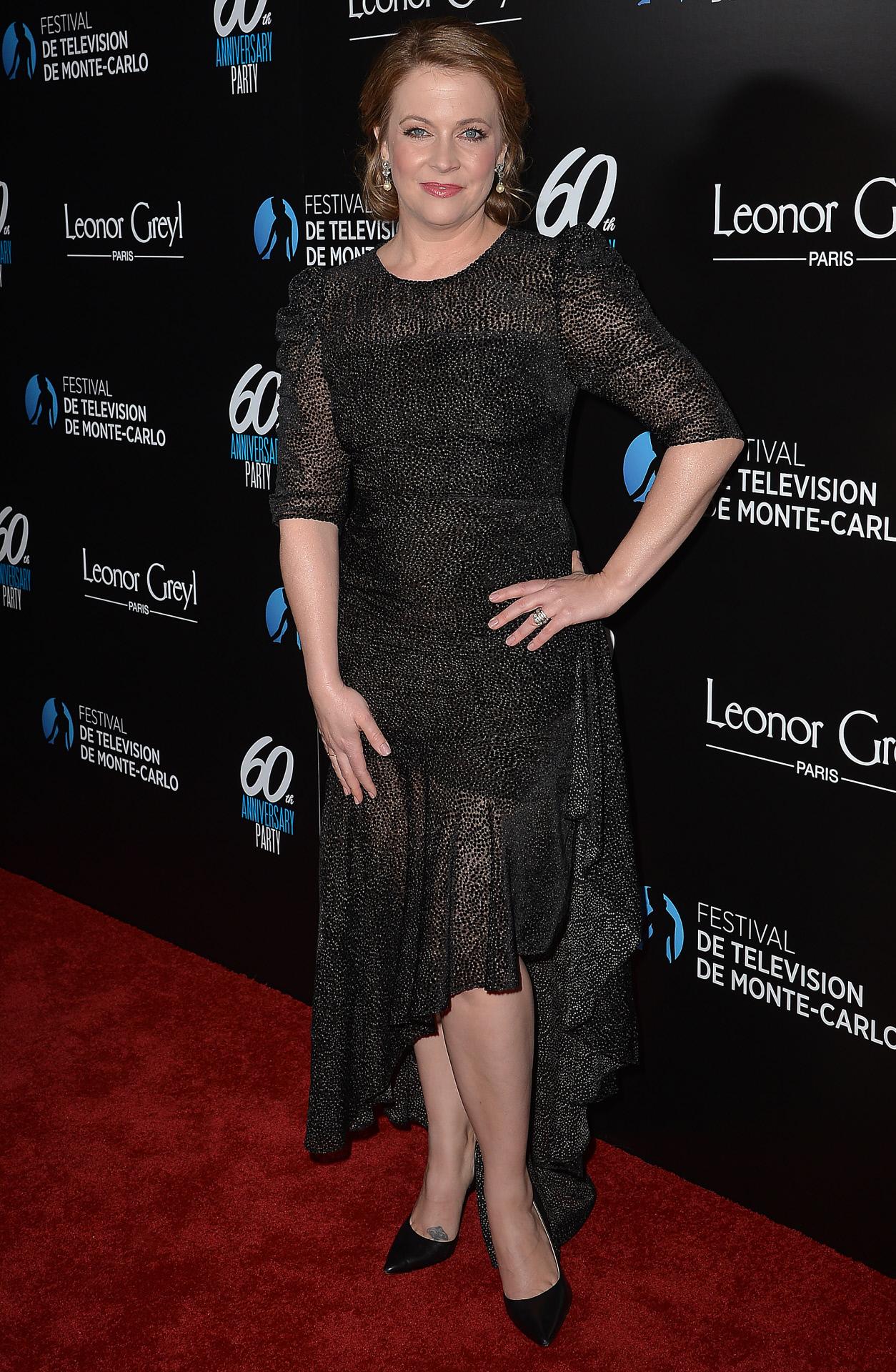 Melissa Joan Hart, en un photocall de febrero de 2020.