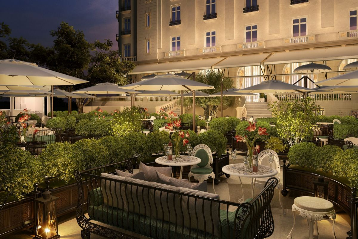 El Jardín del Ritz.