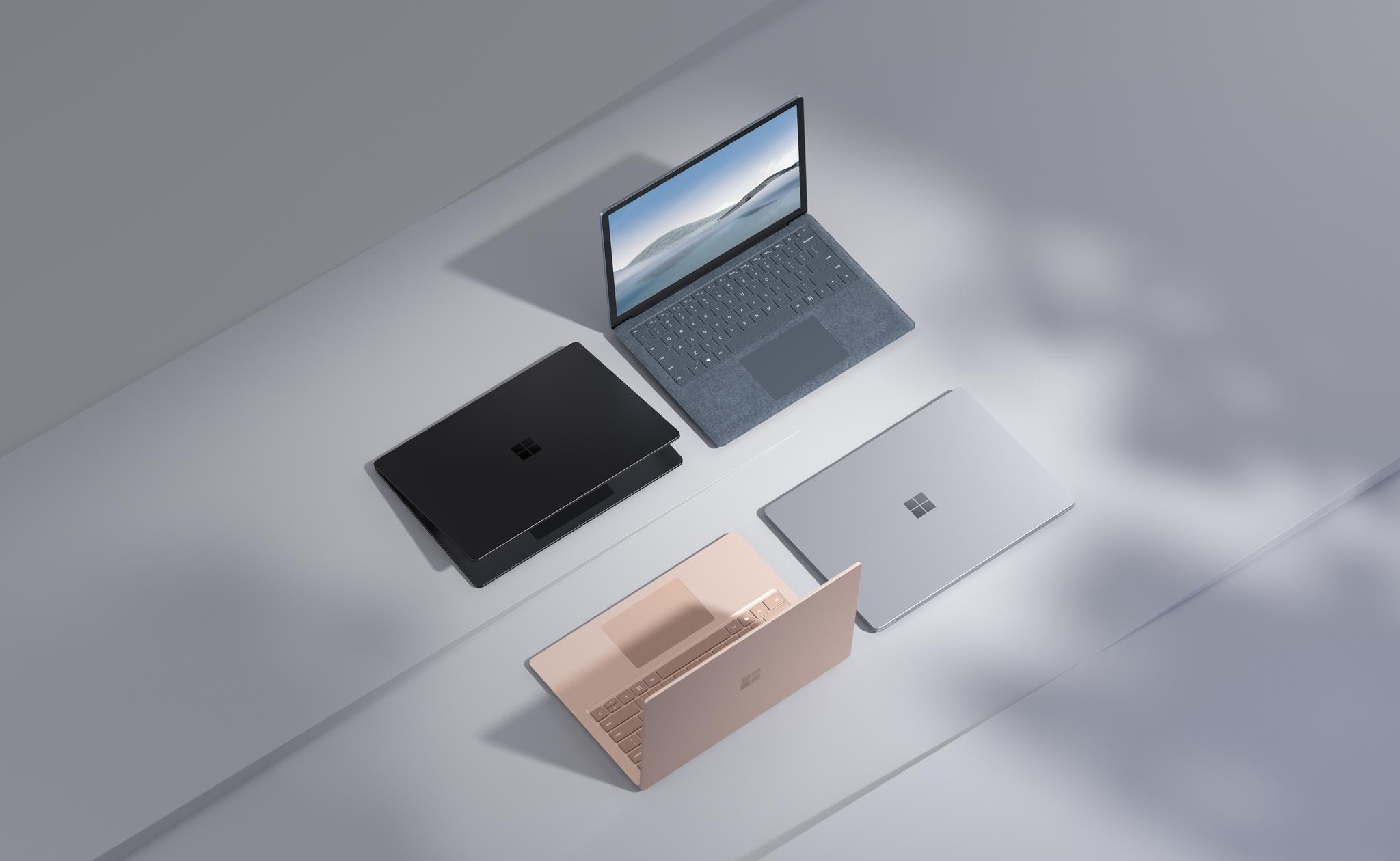 El nuevo Surface Laptop 4 de Microsoft repite la fórmula