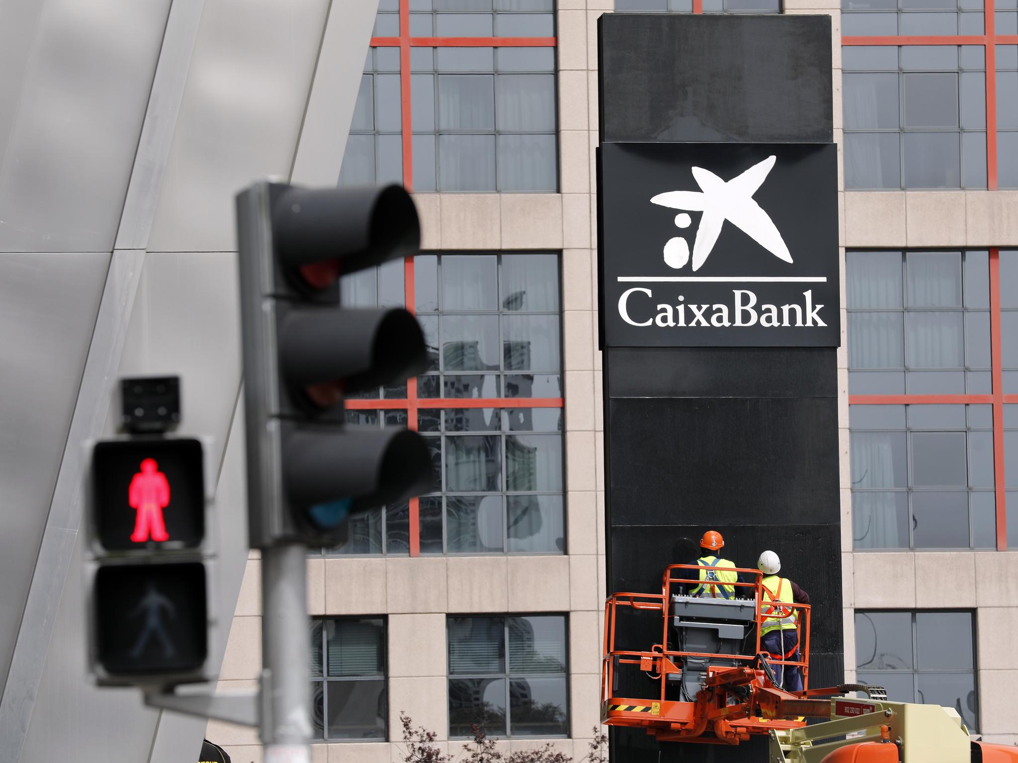 Sede operativa de CaixaBank en Madrid.