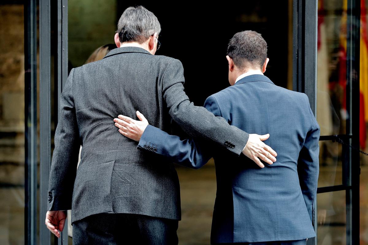 Ximo Puig y Emiliano García-Page, en una imagen de archivo.
