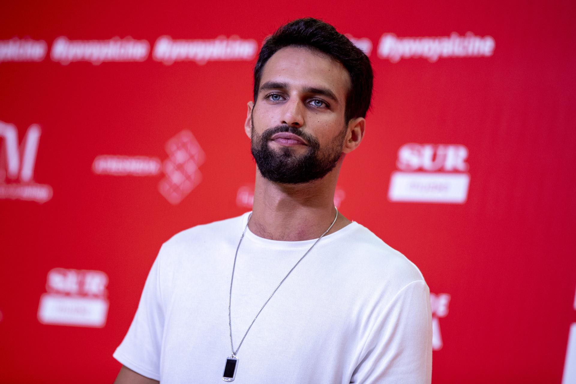El actor Jesús Castro.