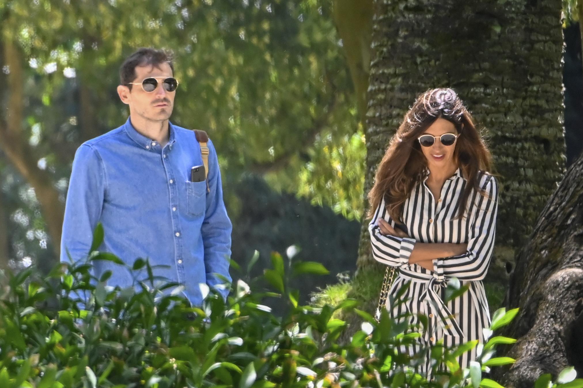 Iker Casillas y Sara Carbonero en una imagen de 2019.