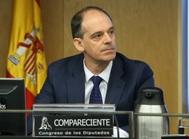 El inspector jefe de la Udef Manuel Morocho, en el Congreso, en 2017.