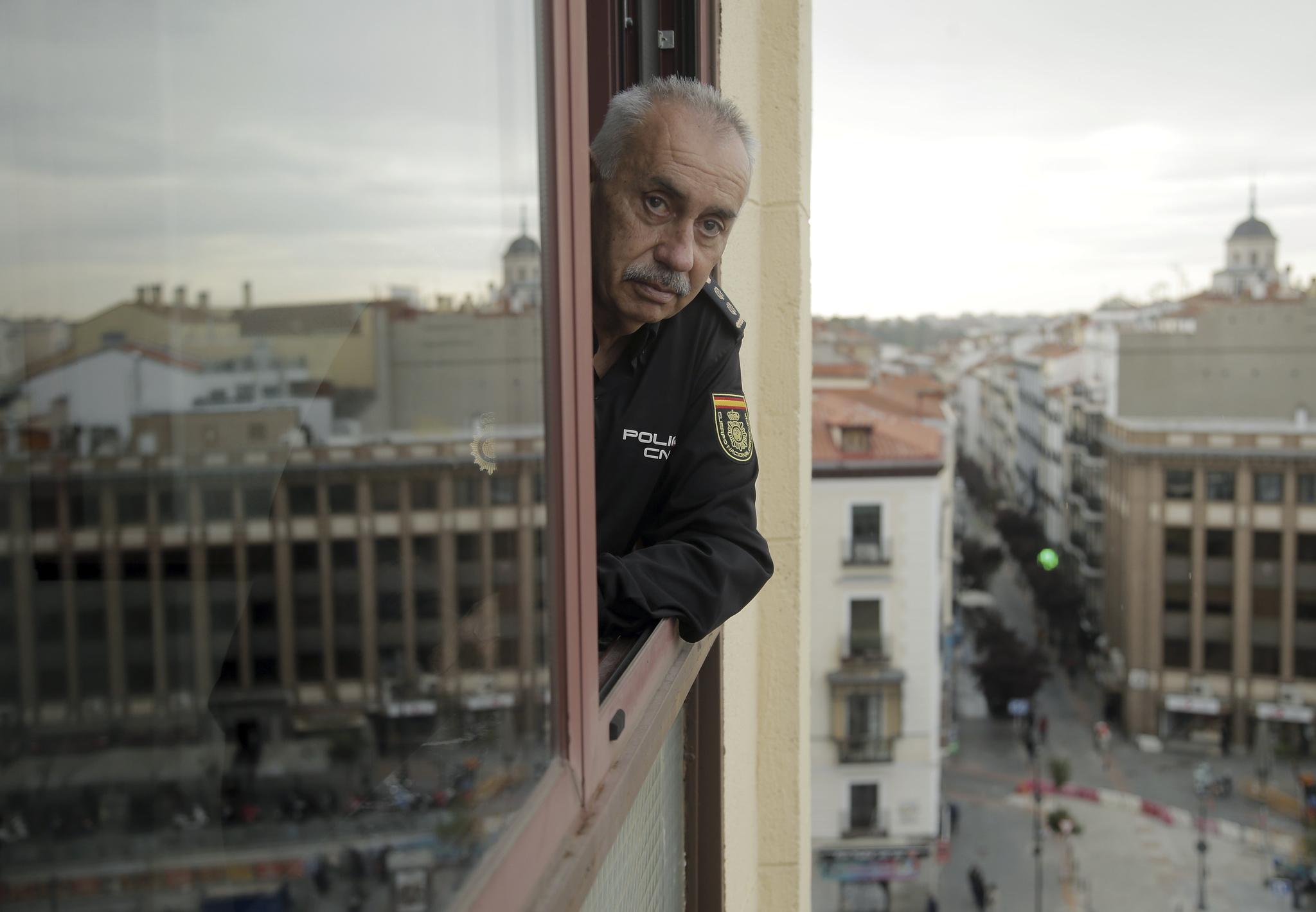 Ricardo Toro, durante la entrevista, en Madrid.