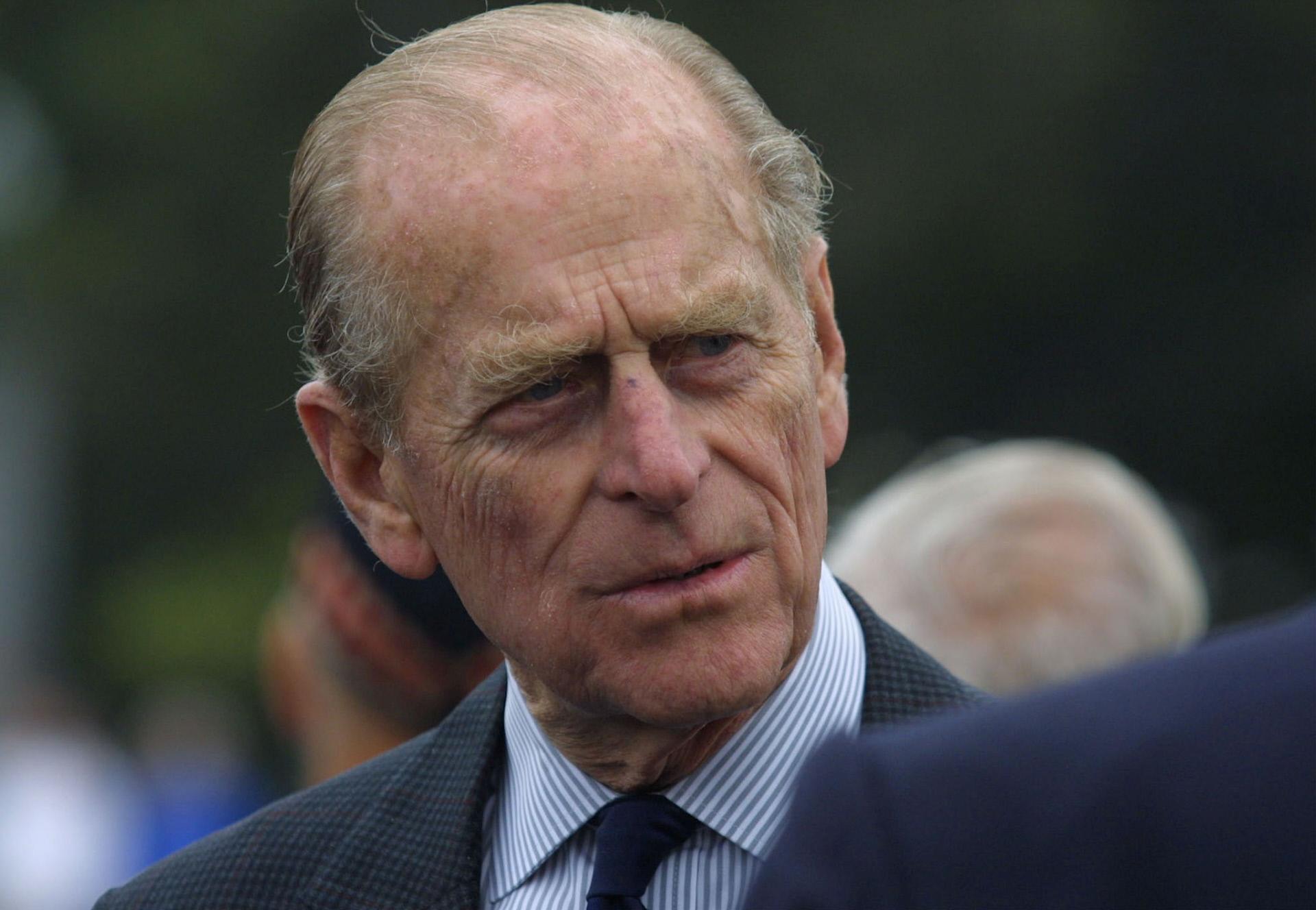 El duque de Edimburgo, en una imagen de 2001.