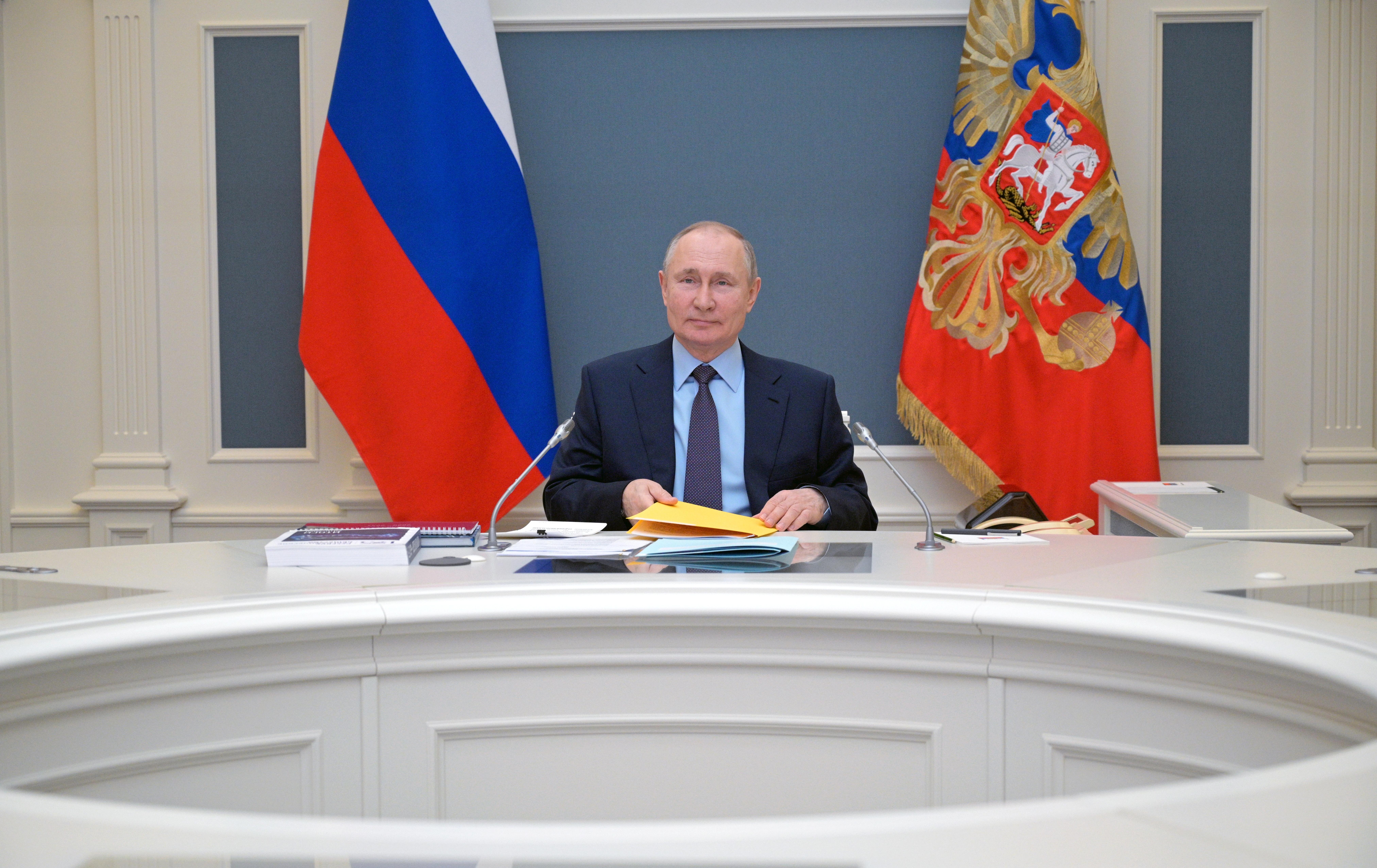 El presiden de Rusia, Vladimir Putin.