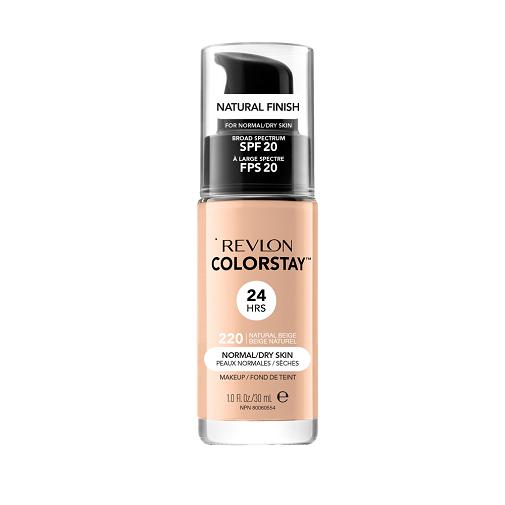 El paso a paso de un maquillaje fácil, natural y favorecedor: Base de maquillaje ColorStay de Revlon.