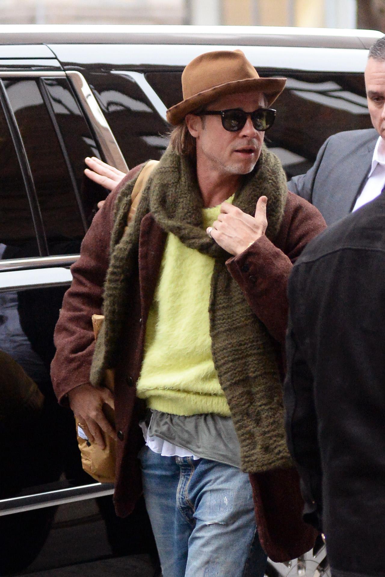 Brad Pitt, en una imagen de enero de 2020.