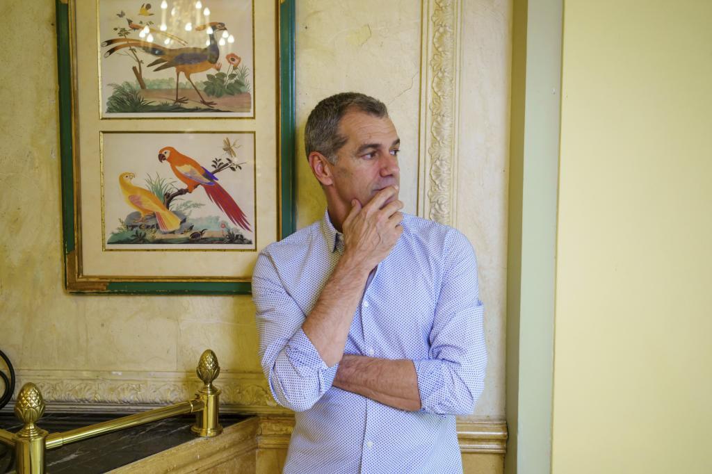 Toni Cantó, el jueves en el hotel Palace de Madrid.