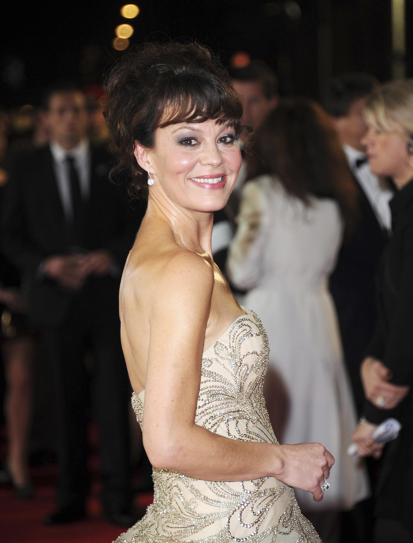 Helen McCrory en una gala, en Londres, en 2012.