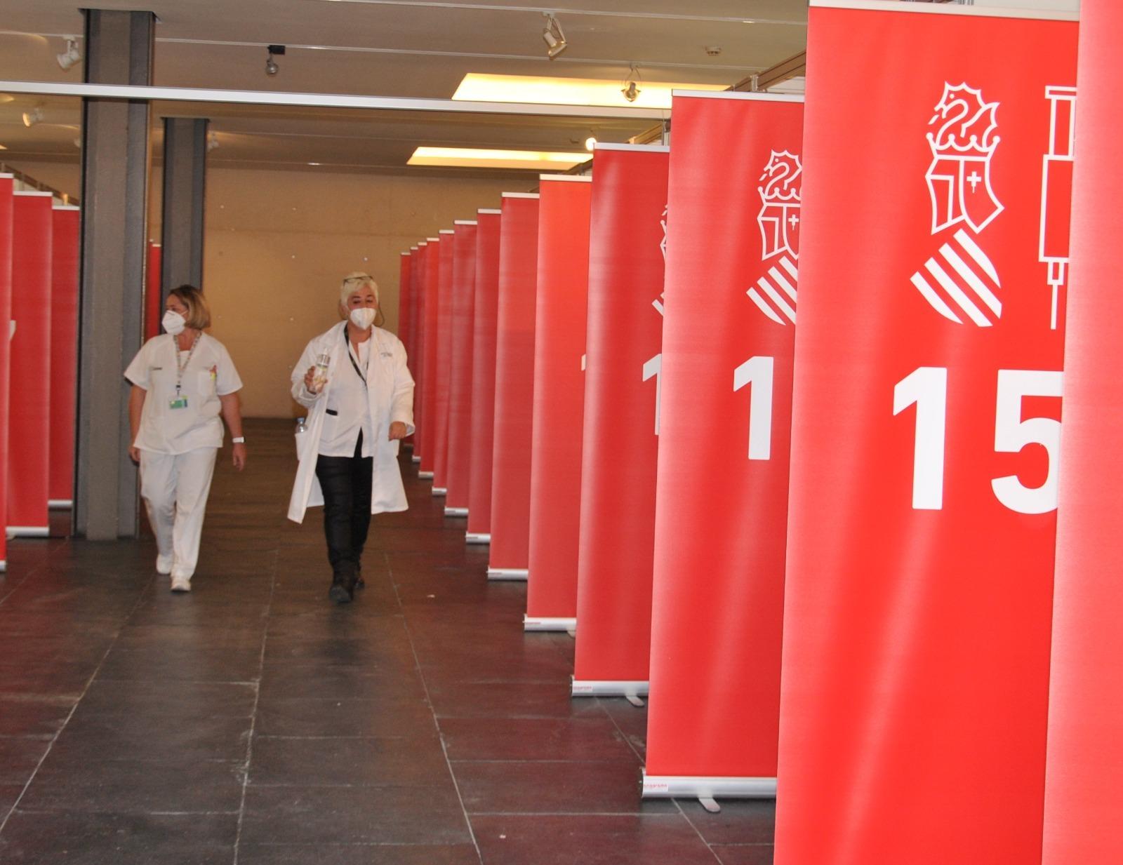 El Auditori de Castellón acogerá este próximo lunes la vacunación masiva.