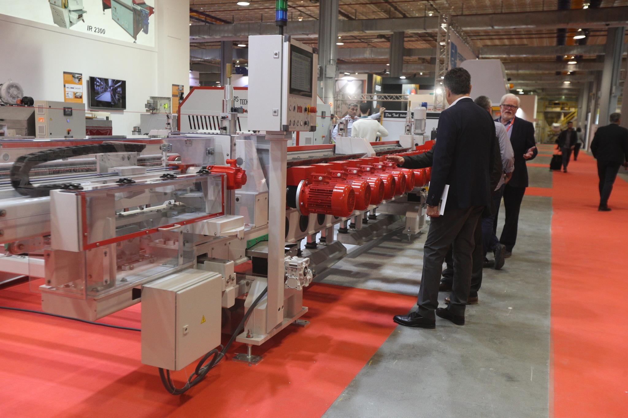 El sector de maquinaria cerámica mostró sus novedades en la última feria antes de la Covid, es decir, enCevisama 2020 .