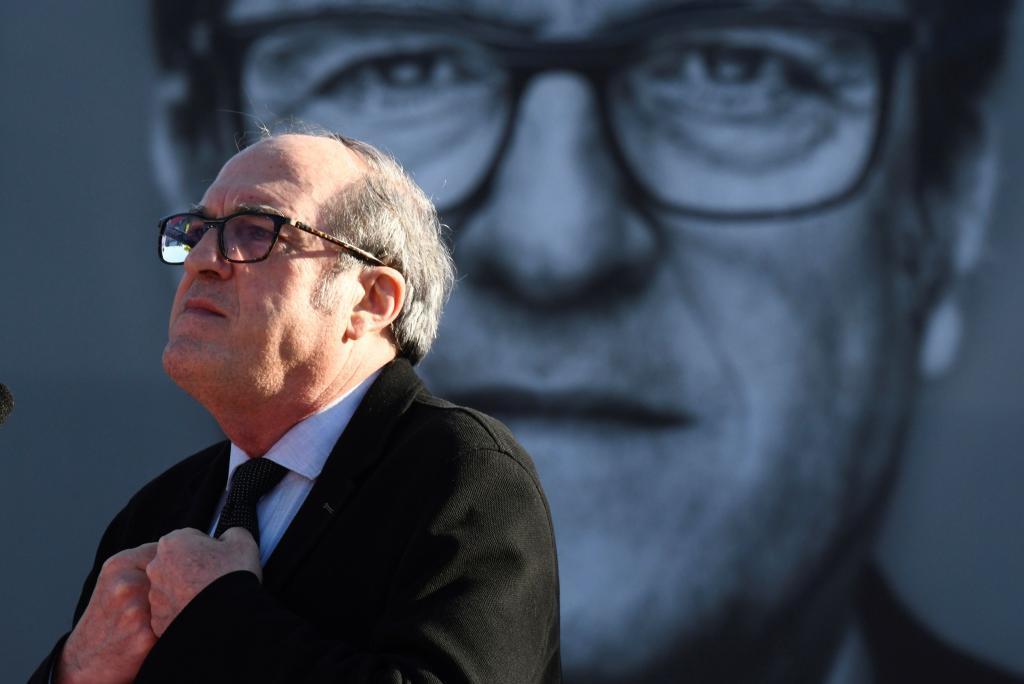 Ángel Gabilondo, en el arranque de campaña del PSOE en Madrid.
