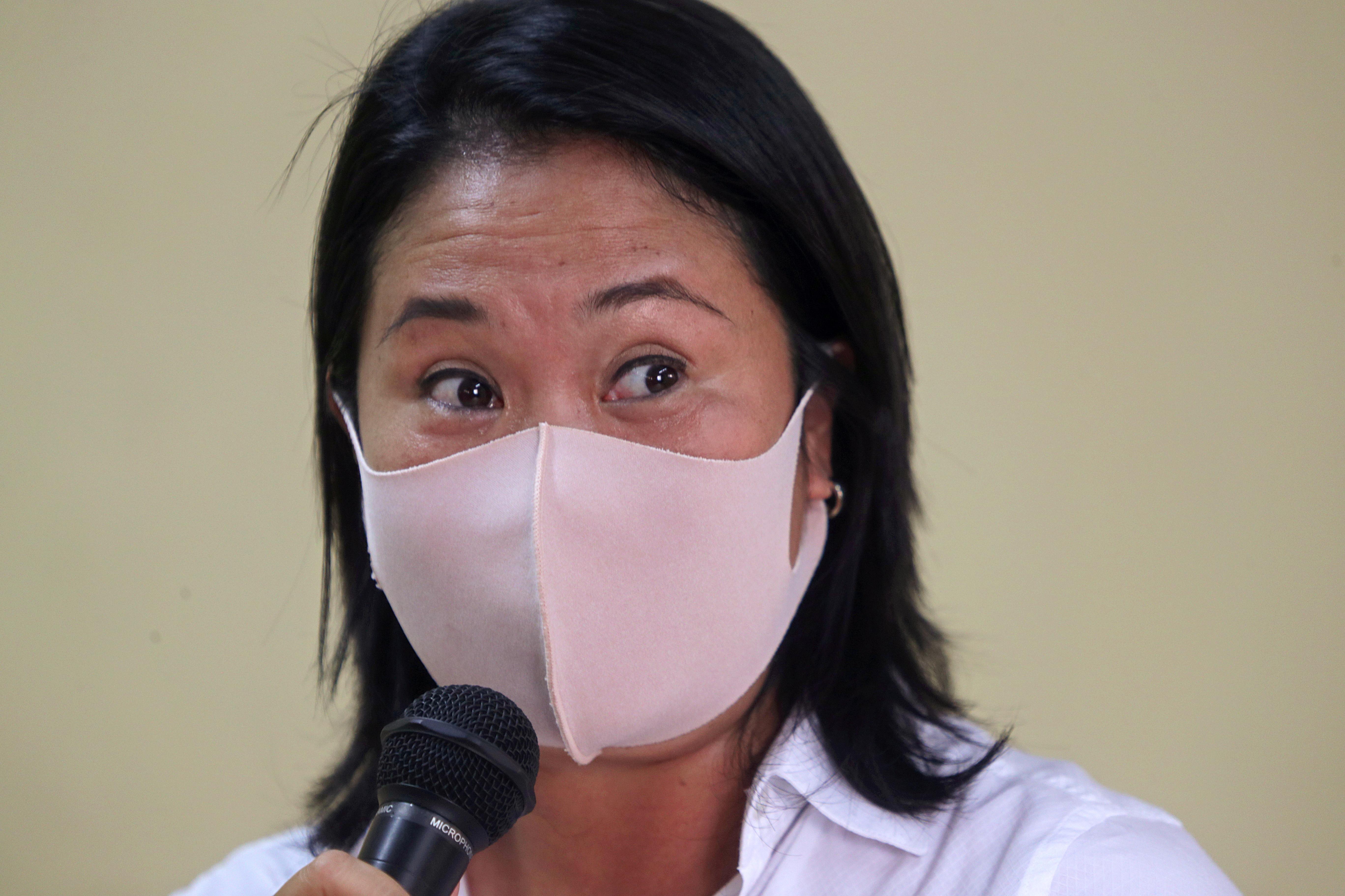 Keiko Fujimori, en una imagen reciente.