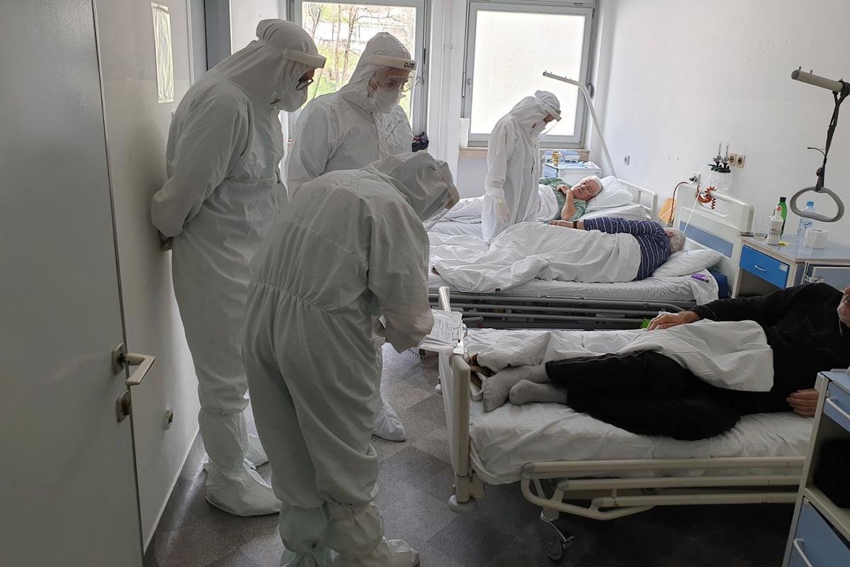 El Hospital Abdulah Nakas en Sarajevo.