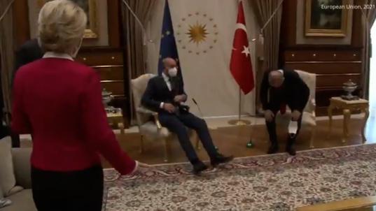 El desplante de Erdogan a Von der Leyen.