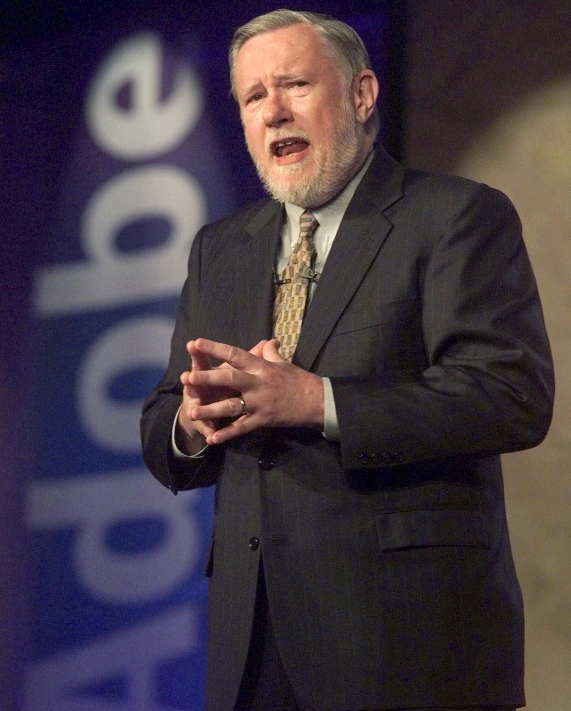 Charles M. Geschke, el presidente y cofundador de Adobe fallecido este domingo.