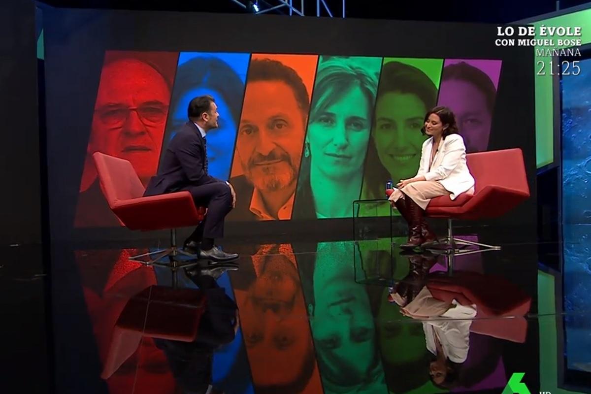Iñaki López pide perdón a Isabel Díaz Ayuso por un lapsus en La Sexta Noche.