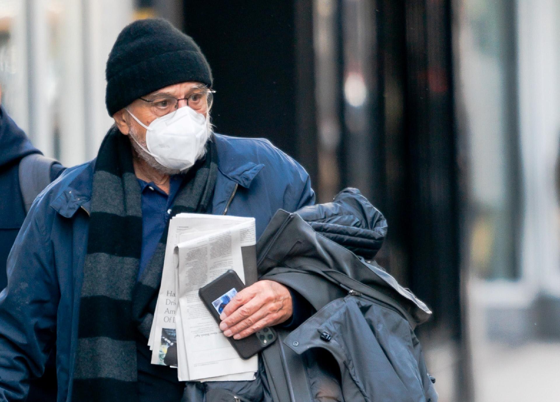 El actor, por las calles de Nueva York, el pasado mes de noviembre.