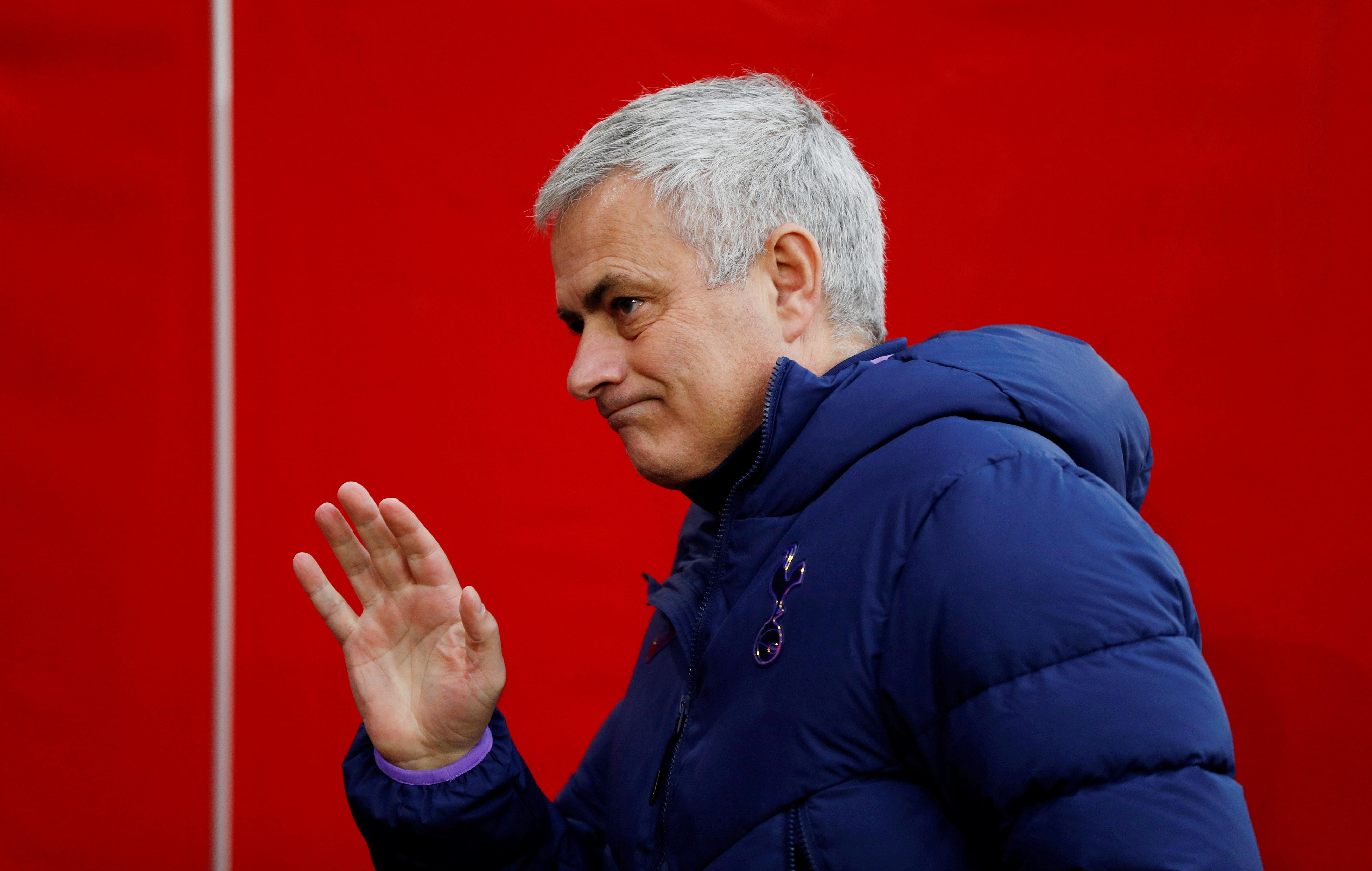 José Mourinho, en su etapa en el Tottenham.
