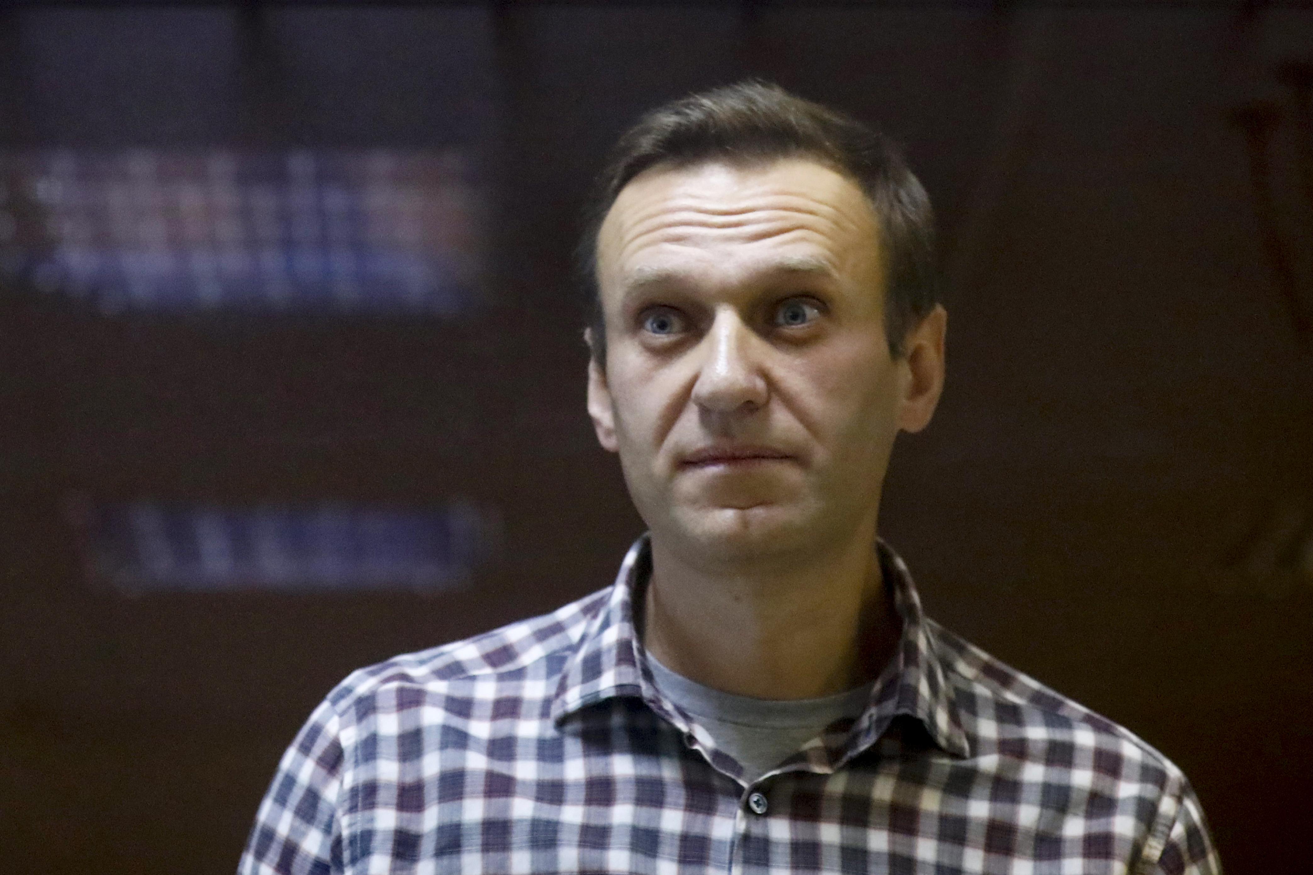 El líder opositor ruso, Alexei Navalny.