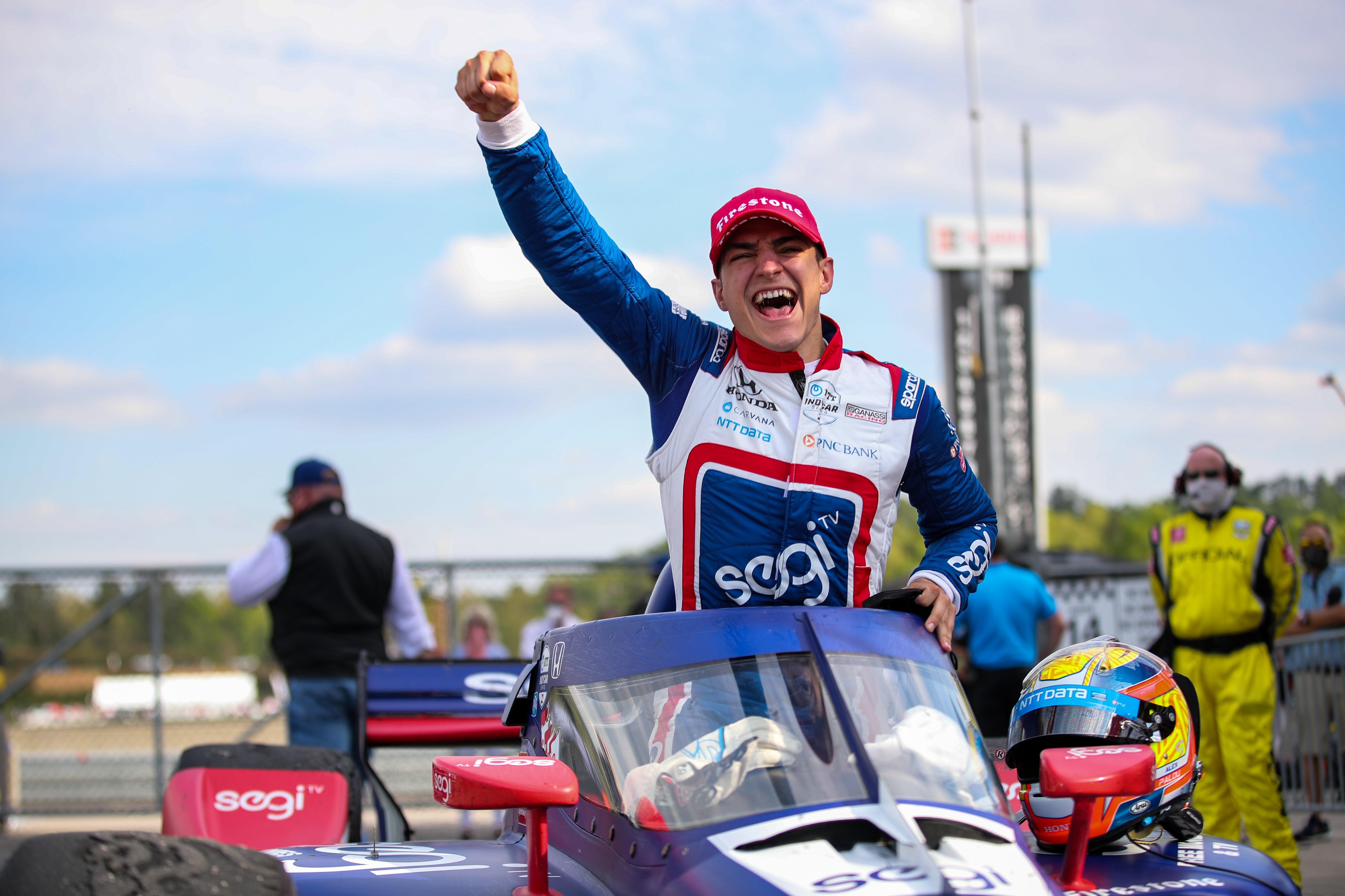 Álex Palou consigue la victoria en el GP de Alabama