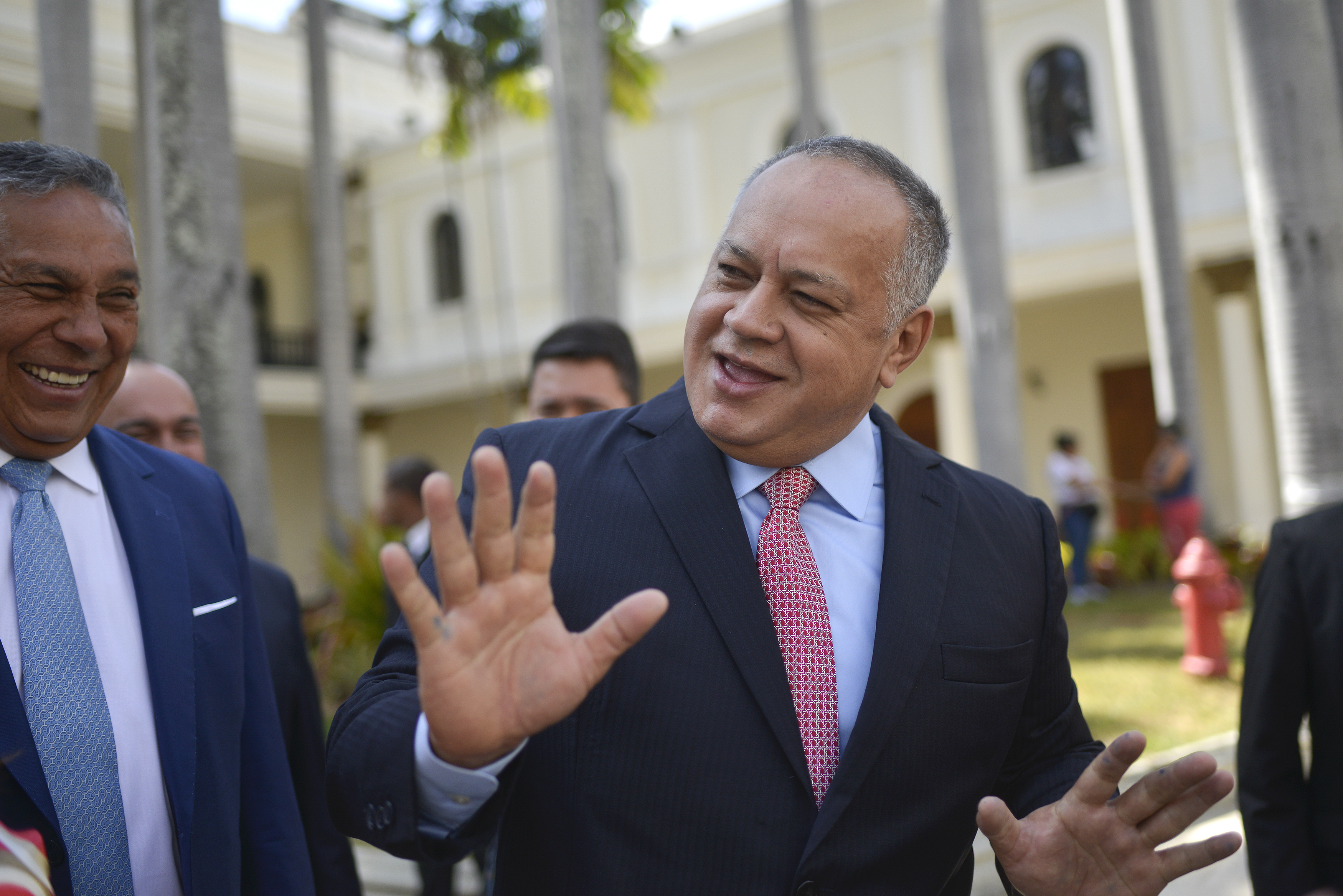Diosdado Cabello, en Caracas.