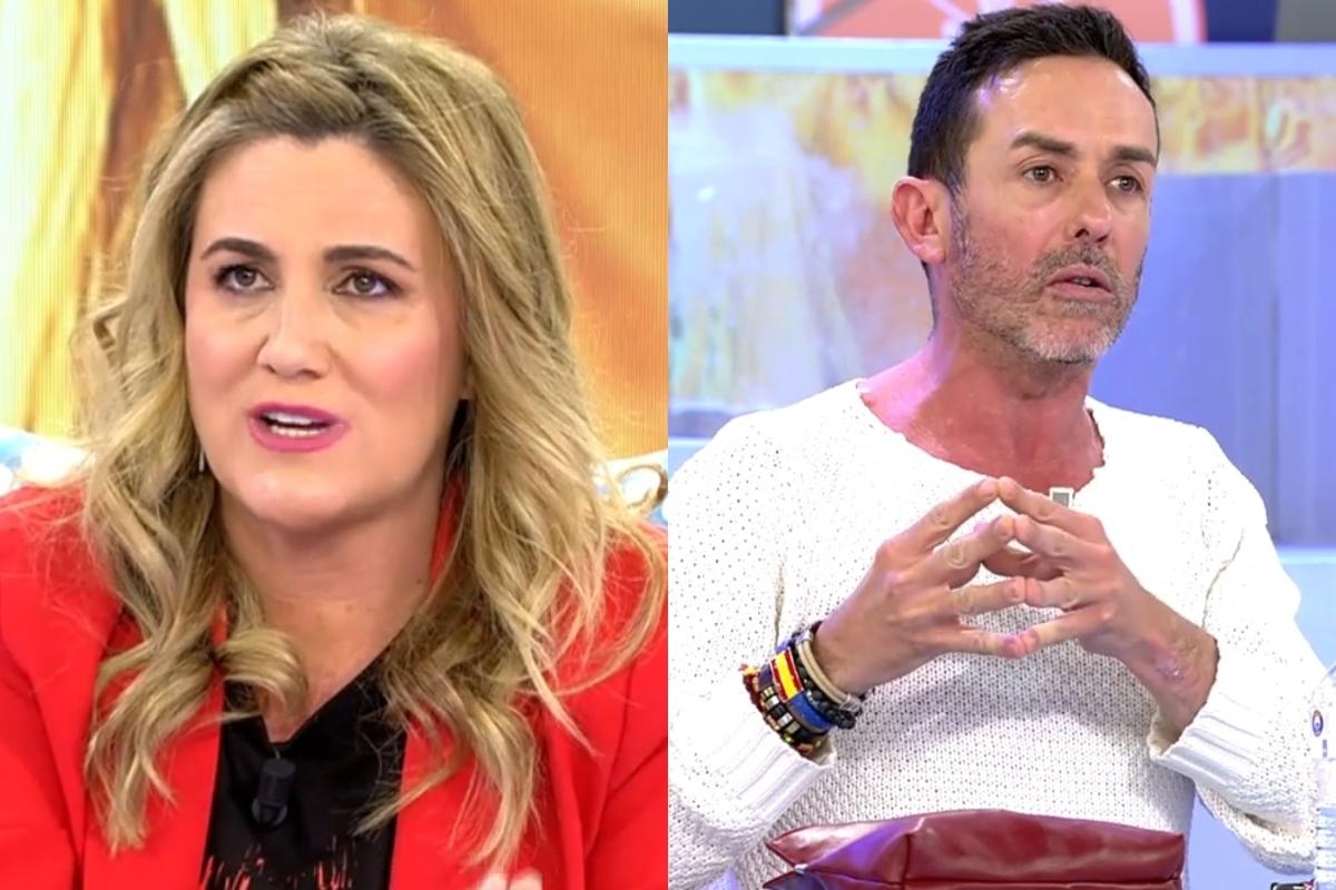 Duro encontronazo entre Carlota Corredera y Jesús Manuel en Sálvame a cuenta de Rocío Carrasco.
